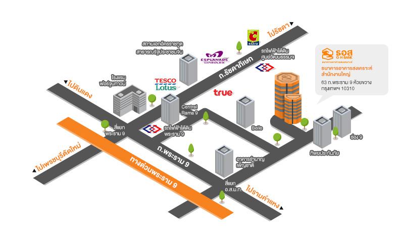 Map GHBank