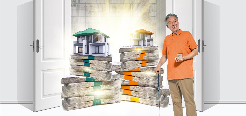 สินเชื่อที่อยู่อาศัยสำหรับผู้สูงอายุ (Reverse Mortgage)